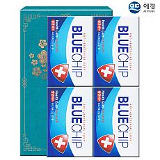 (종이케이스)애경 항균블루칩비누4P