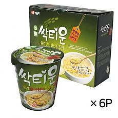 박씨네 유기농발아현미컵누룽지6P