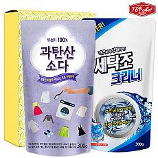 탑셰프 과탄산표백제 세탁조크리너(2종)